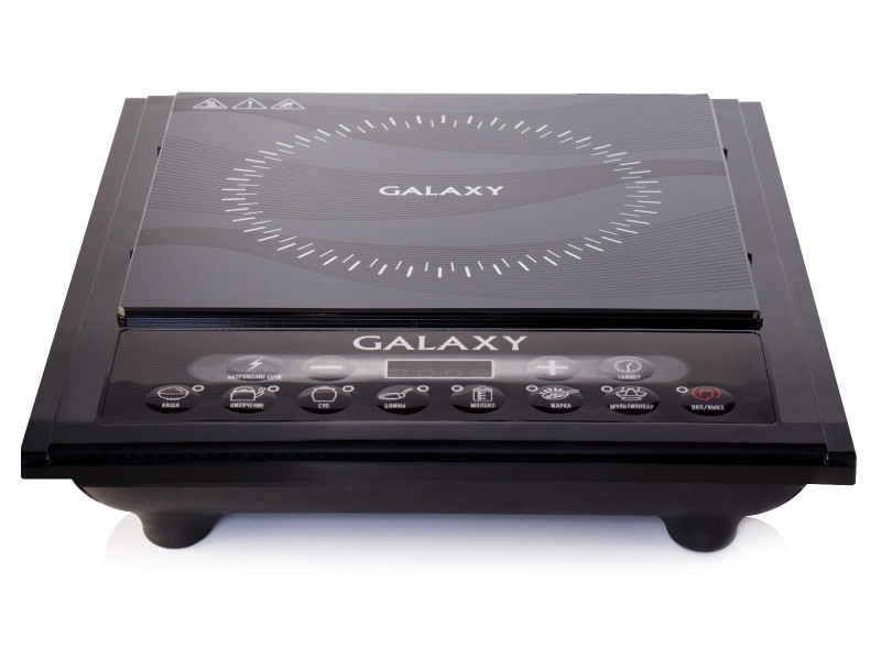 Индукционная электроплитка GALAXY GL3054 чёрный индукционная электроплитка tesler pi 22 чёрный