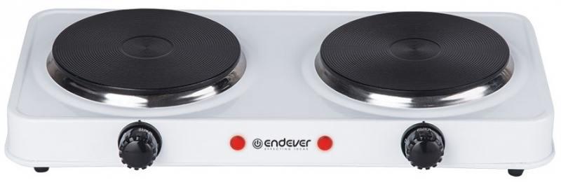 Электроплитка ENDEVER Skyline EP-20W белый электроплитка endever skyline ip 33 индукционная
