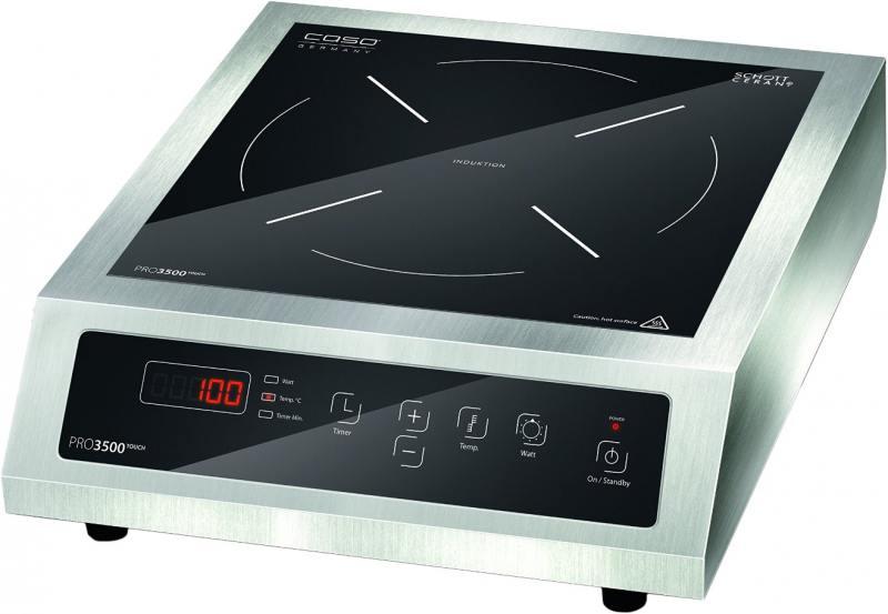 Индукционная электроплитка CASO PRO 3500 Touch плита caso pro 3500 touch