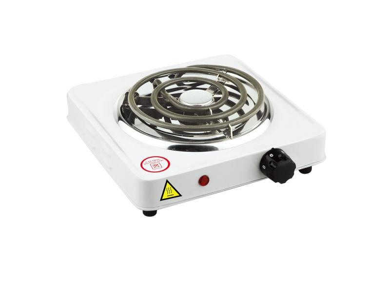Электроплитка Zimber ZM-10068 1000Вт белый
