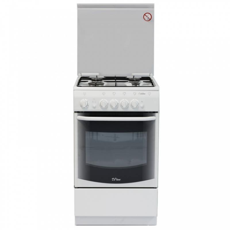 Газовая плита De Luxe 5040.44г кр газовая плита de luxe 5040 33г белый 5040 33г