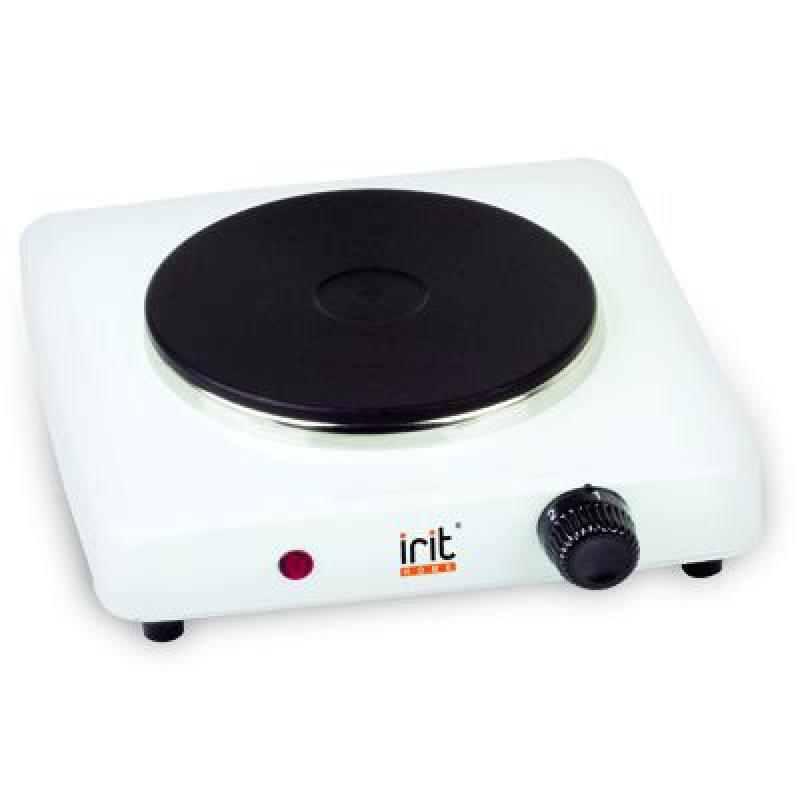 Электроплитка Irit IR-8004 белый чёрный электроплитка irit ir 8101 белый