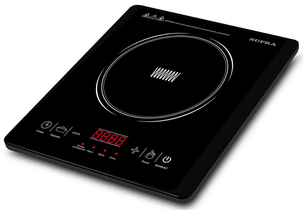 Индукционная электроплитка Supra HS-701I 2000Вт черный