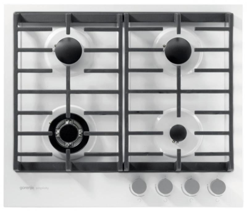 Варочная панель газовая Gorenje G6SY2W варочная панель газовая gorenje gc341inb черный