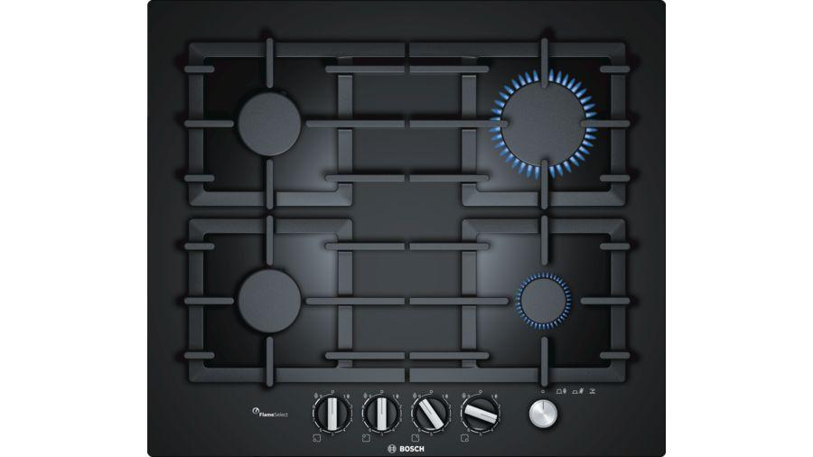 Варочная панель газовая Bosch PPP6A6M90R набор для вышивания бисер ленты матренин посад сиреневое утро 28 см х 34 см 7016