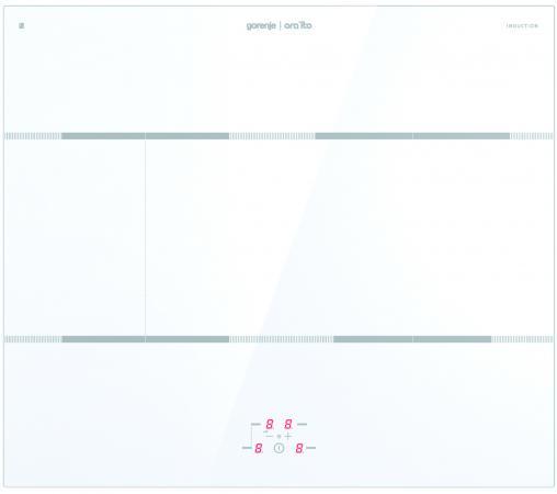 Варочная панель индукционная Gorenje IT635ORAW варочная панель электрическая gorenje it635oraw белый