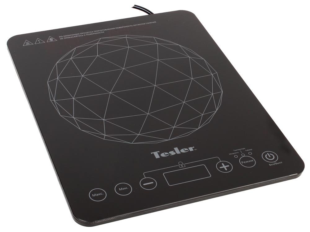 Плитка индукционная TESLER PI-16 1 конфорка, 2000Вт, Стеклокерамика