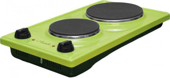 Электроплитка Лысьва ЭПБ 22 зеленый