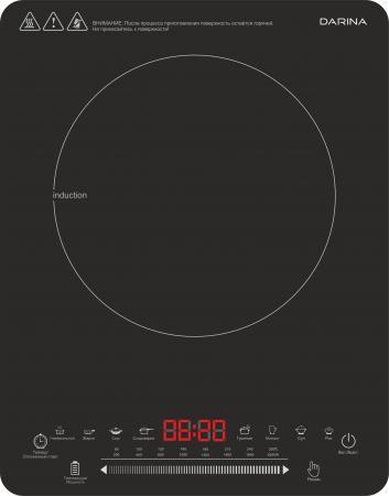 Электроплитка Darina NI 765 B черный древпром стул древпром скалли 765 капитон черный t5 r fso0