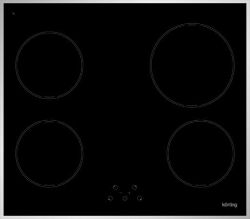 Варочная панель индукционная Korting HI 64021 X встраиваемая индукционная электрическая варочная поверхность korting hi 64021 b