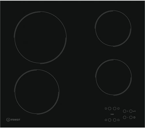 Варочная панель электрическая Indesit RI 161 C варочная панель электрическая indesit via 640 0 c черный