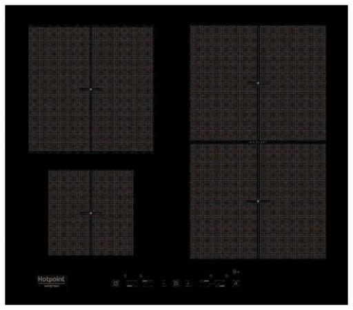 Варочная панель электрическая HOTPOINT-ARISTON KIT 641 F B варочная панель электрическая ariston kis 644 ddz черный