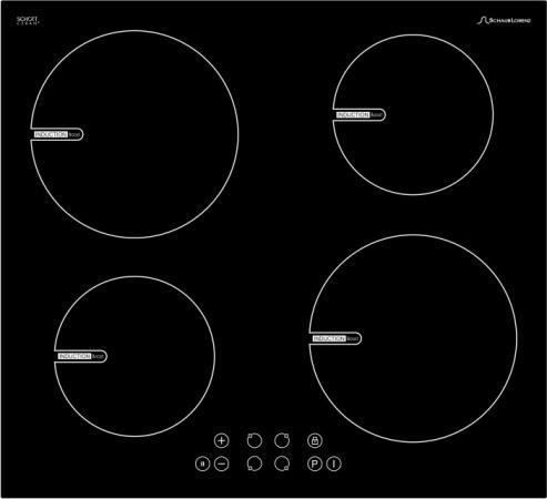 Варочная панель индукционная Schaub Lorenz SLK IY6TC0 индукционная варочная панель asko hi1994g