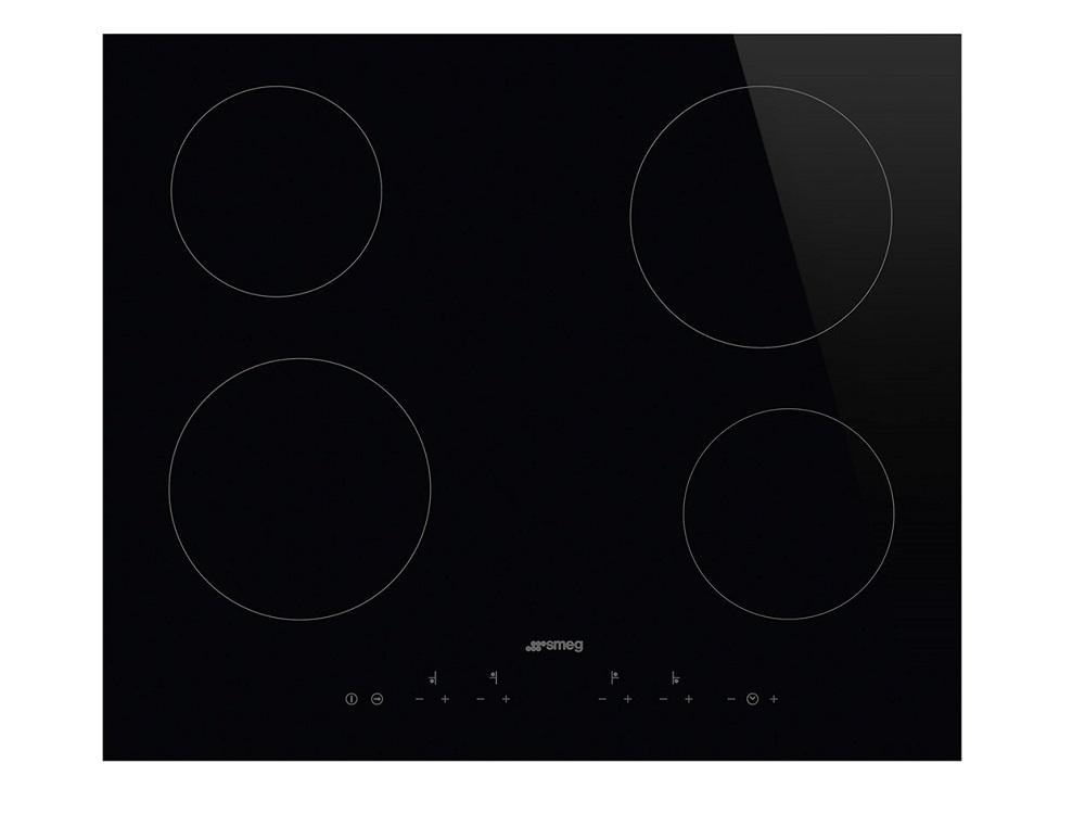 Варочная панель электрическая Smeg SE364TD варочная панель электрическая smeg se364td черный