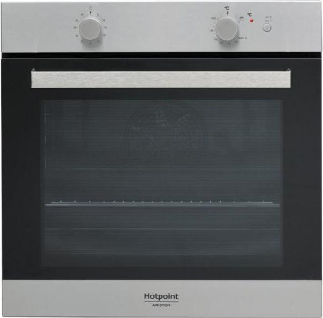 Встраиваемая газовая духовка HOTPOINT-ARISTON GA3 124 IX HA духовой шкаф hotpoint ariston ga3 124 ix
