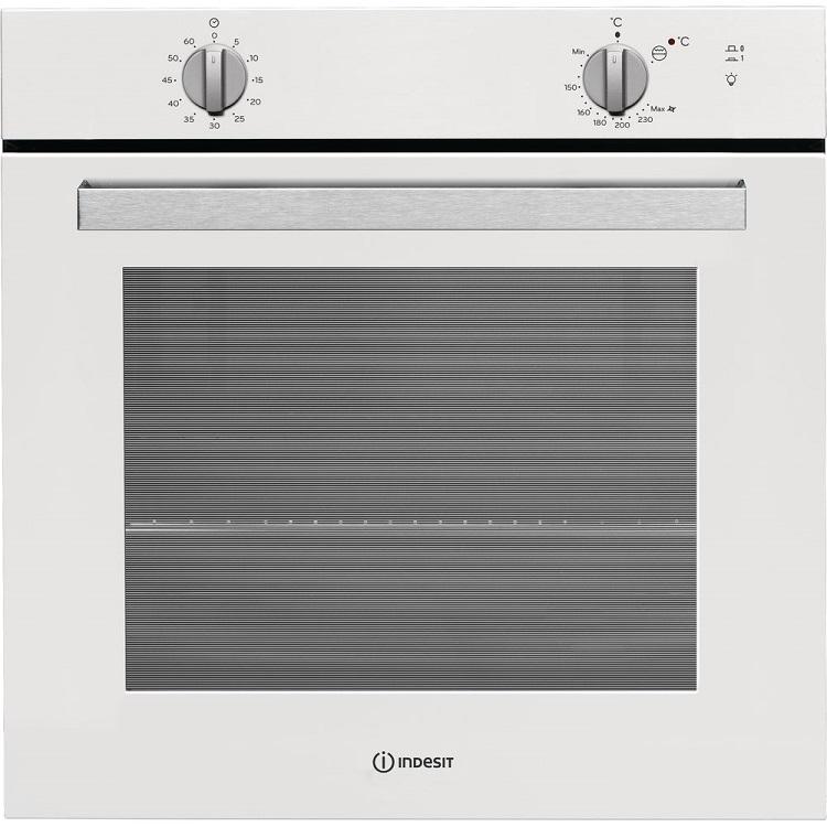 Встраиваемая газовая духовка INDESIT IGW 620 WH indesit tia 16