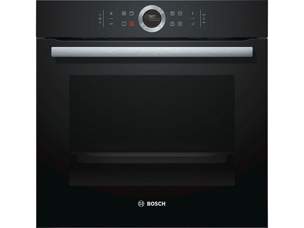 Встраиваемая электрическая духовка BOSCH HBG655BB1 bosch hbg655bb1 black