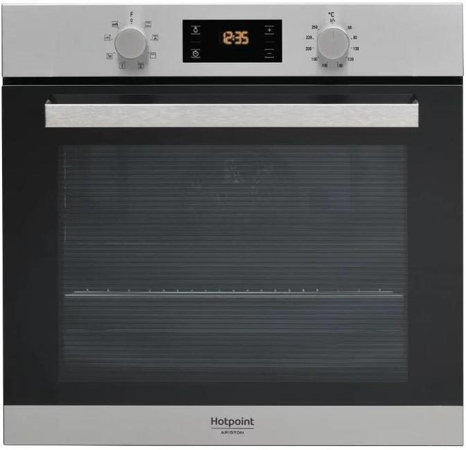 Встраиваемая электрическая духовка HOTPOINT-ARISTON FA3 544 C IX HA встраиваемая стиральная машина hotpoint ariston awm 108