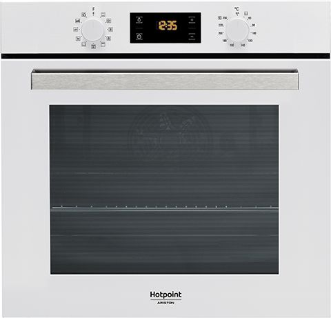 Встраиваемая электрическая духовка HOTPOINT-ARISTON FA3 841 H WH HA встраиваемая стиральная машина hotpoint ariston awm 108