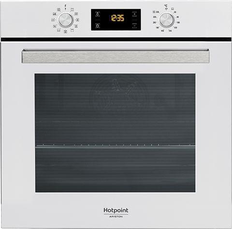 Встраиваемая электрическая духовка HOTPOINT-ARISTON FA5 841 JH WH HA встраиваемая стиральная машина hotpoint ariston awm 108