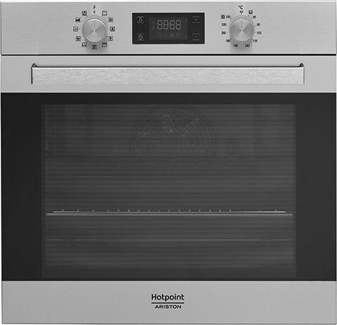 Встраиваемая электрическая духовка HOTPOINT-ARISTON FA5 844 H IX HA встраиваемая стиральная машина hotpoint ariston awm 108