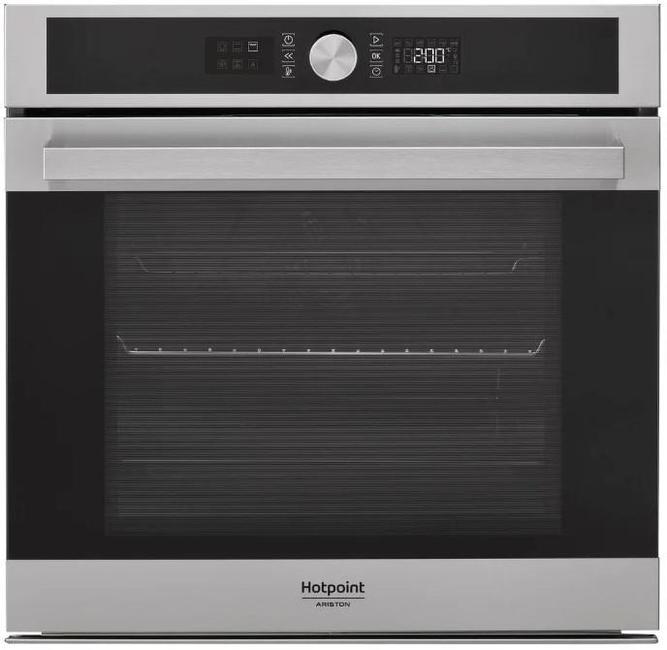 Встраиваемая электрическая духовка HOTPOINT-ARISTON FI5 854 P IX HA встраиваемая стиральная машина hotpoint ariston awm 108
