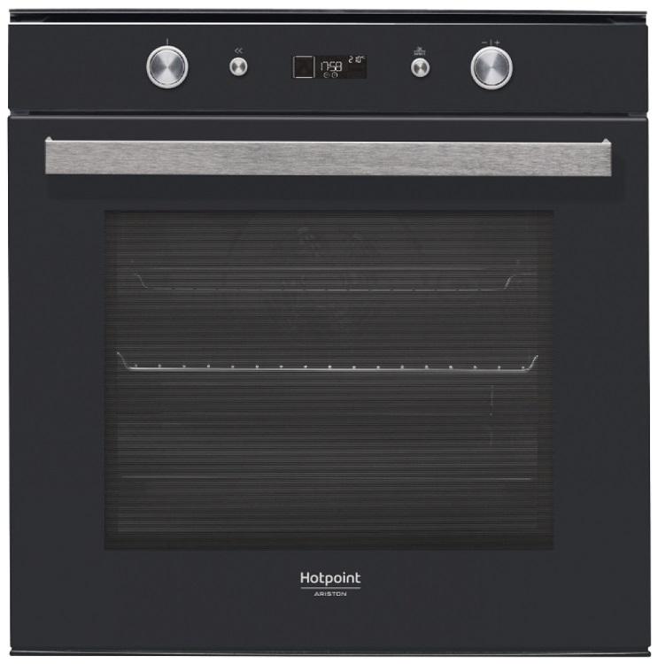 Встраиваемая электрическая духовка HOTPOINT-ARISTON FI7 861 SH BL HA встраиваемая стиральная машина hotpoint ariston awm 108