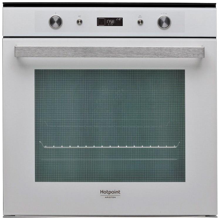 Встраиваемая электрическая духовка HOTPOINT-ARISTON FI7 861 SH WH HA встраиваемая стиральная машина hotpoint ariston awm 108