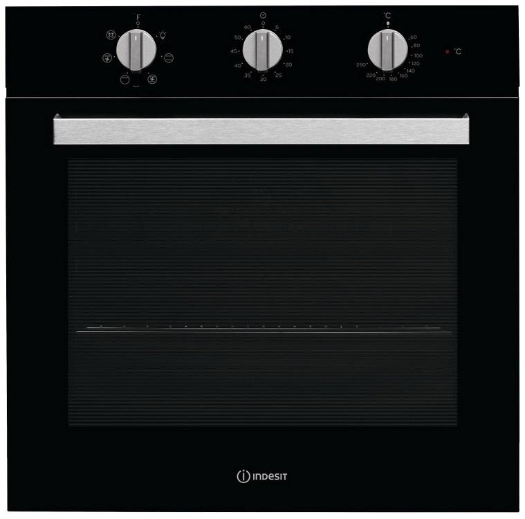 Фото - Встраиваемая электрическая духовка INDESIT IFW 6530 BL встраиваемая электрическая духовка indesit ifw 6230 ix