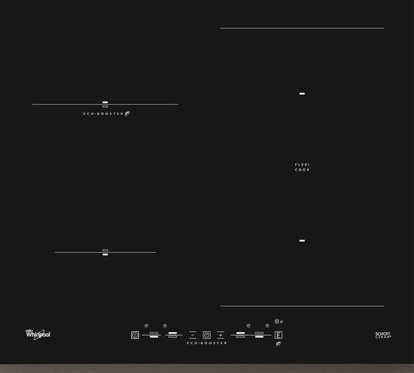 Варочная панель индукционная Whirlpool ACM 920/BF индукционная варочная панель asko hi1994g
