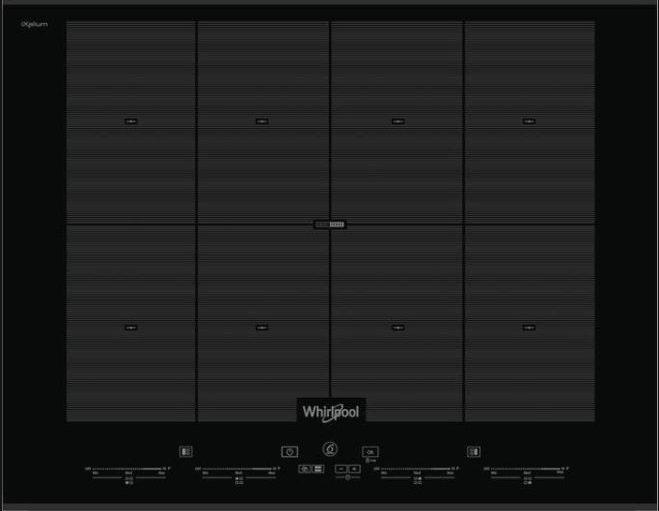 Варочная панель индукционная Whirlpool SMO 658C/BT/IXL индукционная варочная поверхность whirlpool smc 653 f bt ixl
