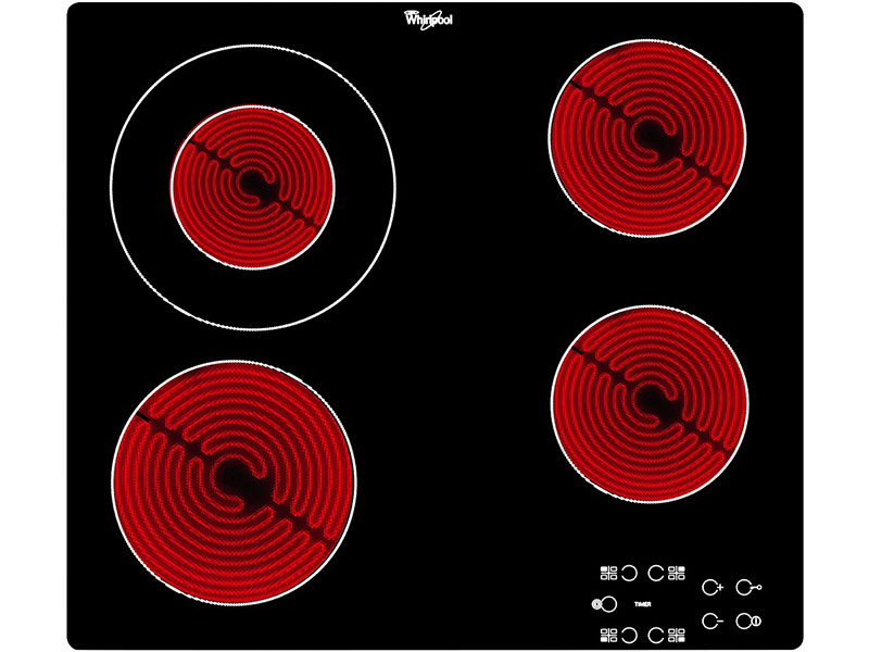 AKT 8130/BA электрическая варочная поверхность whirlpool akt 8130 ba
