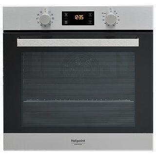 Встраиваемая электрическая духовка HOTPOINT-ARISTON FA3 840 H IX HA встраиваемая стиральная машина hotpoint ariston awm 108