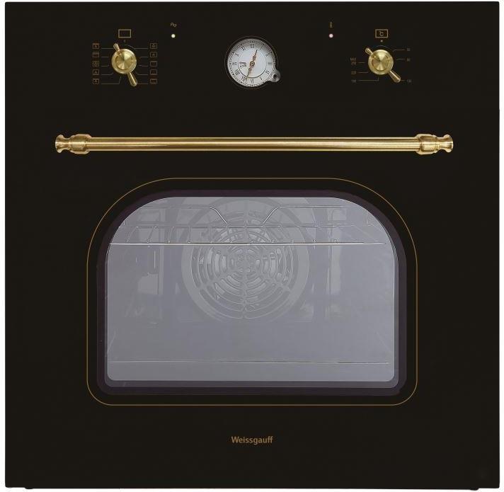 Встраиваемая электрическая духовка Weissgauff EOA 69 AN weissgauff quadro 800 eco granit бежевый