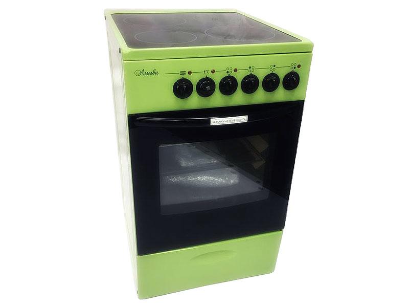 Электрическая плита Лысьва ЭПС 411 МС зеленый электрическая плита лысьва эп 301 wh
