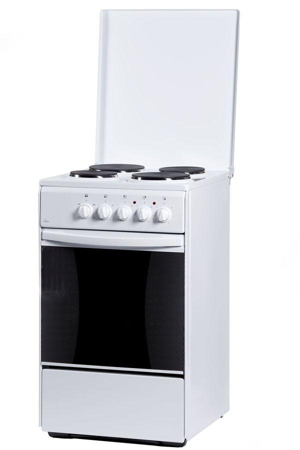 Электрическая плита Flama AE 1401 W электрическая плита flama ae 1401 w эмаль белый