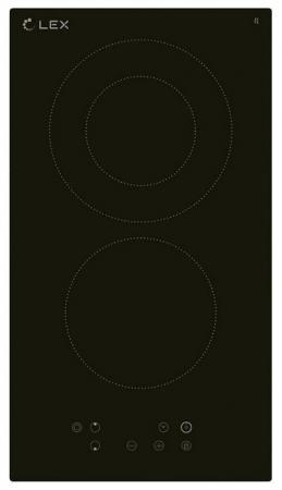 цена на Варочная панель электрическая Lex EVH 321 Black