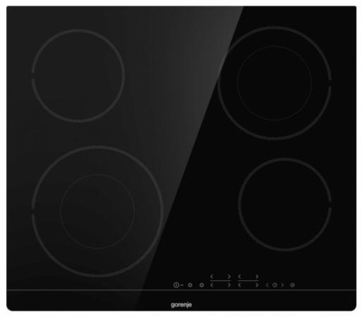 Варочная панель электрическая Gorenje ECT644BSC варочная панель электрическая gorenje ect693orab черный