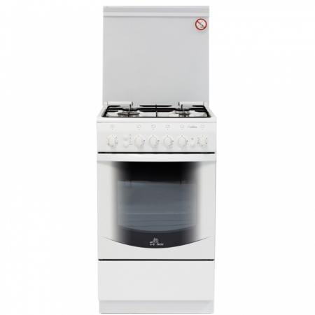 Газовая плита De Luxe 5040.41г чр газовая плита de luxe 506040 01г чр газовая духовка белый