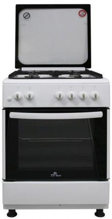 Газовая плита De Luxe 606040.24-001г (кр) ЧР газовая плита 506040 03г кр чр белый