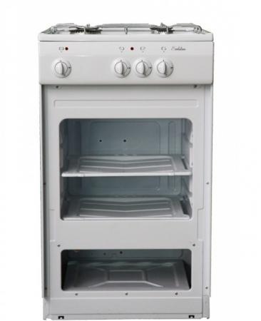 Газовая плита De Luxe 5040.39г щ газовая плита de luxe 5040 45г щ 001 газовая духовка белый