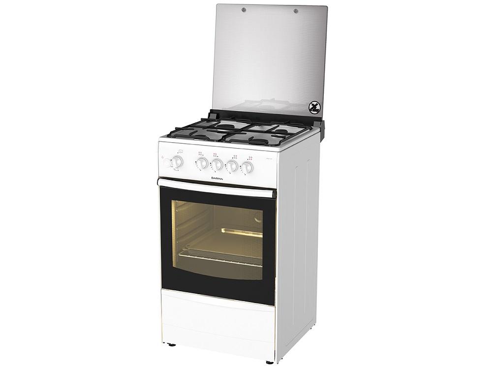 Газовая плита DARINA 1B GM441 005 W газовая плита дарина 1b gm441 008 w белый 1b gm441 008 w