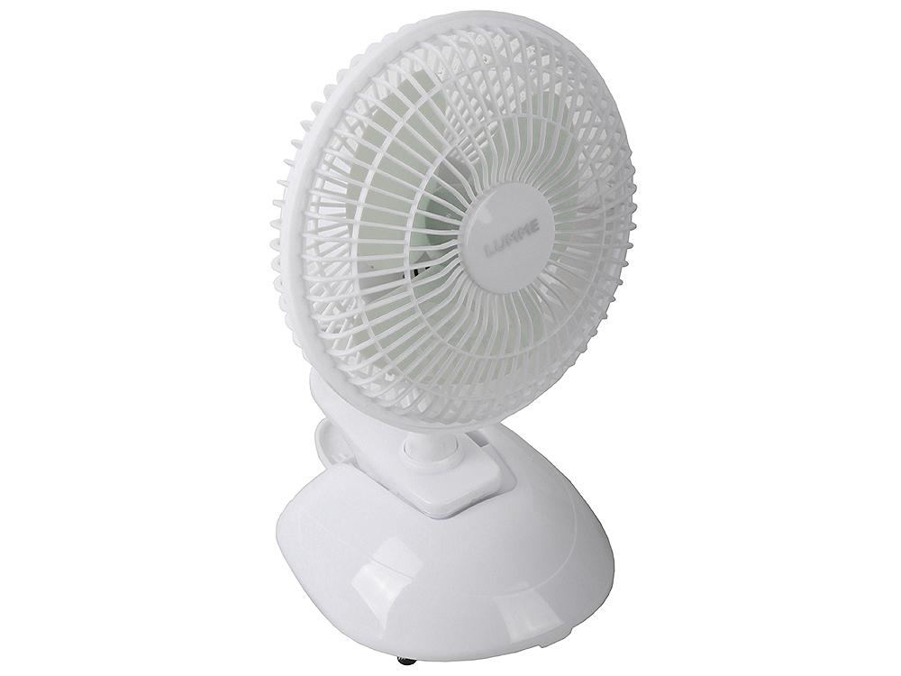 Вентилятор настольный LUMME LU-109 белый/серый