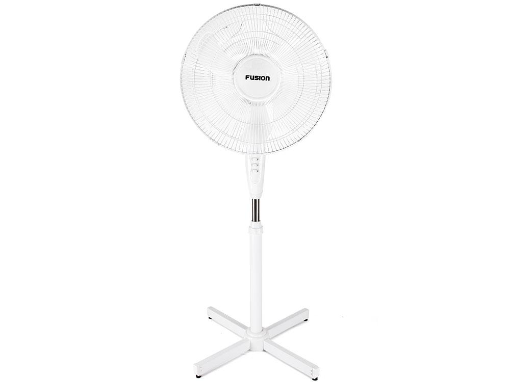 Вентилятор напольный Fusion FSF-40 белый fsf 100