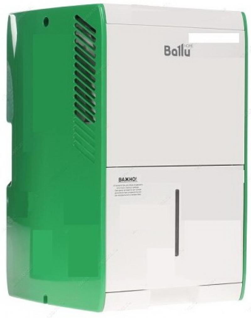 Осушитель воздуха BALLU BDH-15L белый зелёный осушитель воздуха ballu bdt 35 l