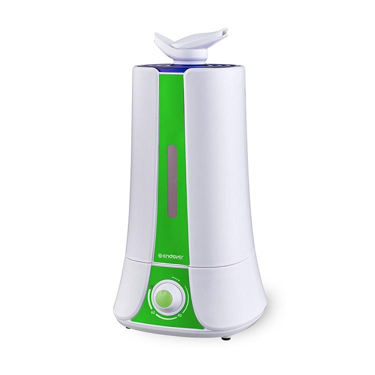 Увлажнитель воздуха Endever Oasis 140, белый-зеленый