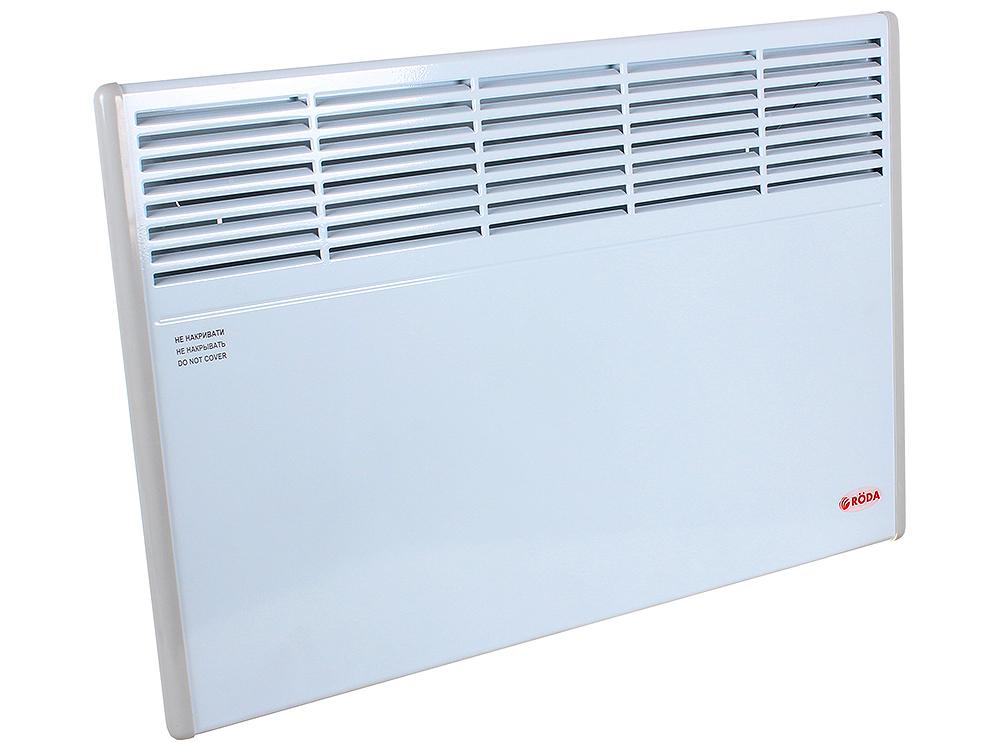 Конвектор RODA Standart 1.0 EBHA-1.0/230C2M 1000 Вт. Механическое управление, площадь 10м2, ВхШхГ 45х49х10 см, белый.