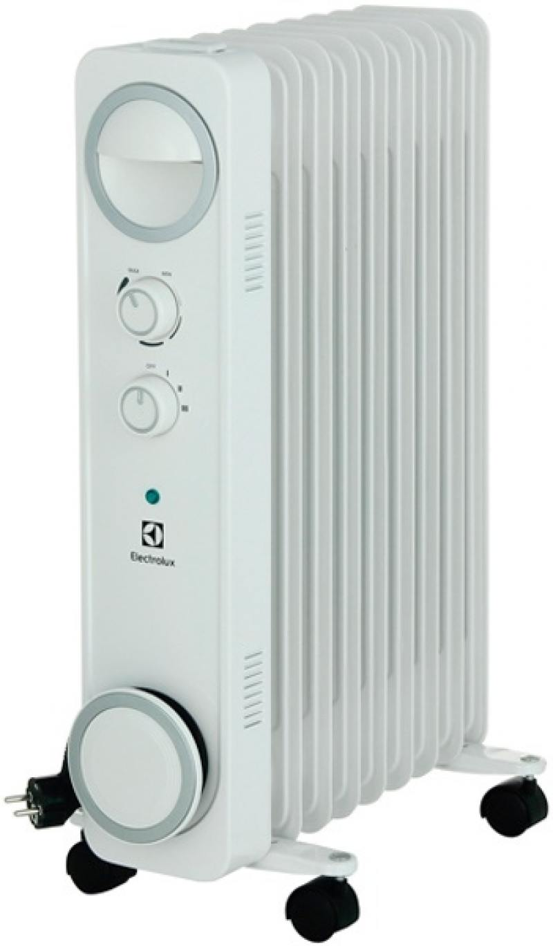 Масляный радиатор Electrolux EOH/M-6209 2000 Вт белый масляный радиатор eoh m 4209 9 секций 2000 вт electrolux