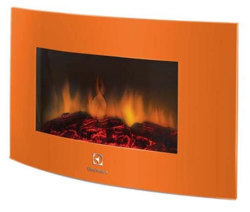 Электрокамин Electrolux EFP/W-1200URLS 2000 Вт оранжевый