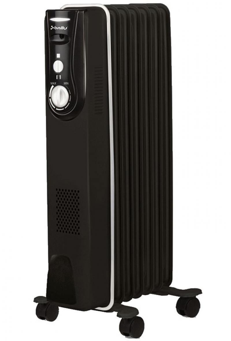 Масляный радиатор BALLU BOH/MD-07BBN 1500 Вт чёрный все цены